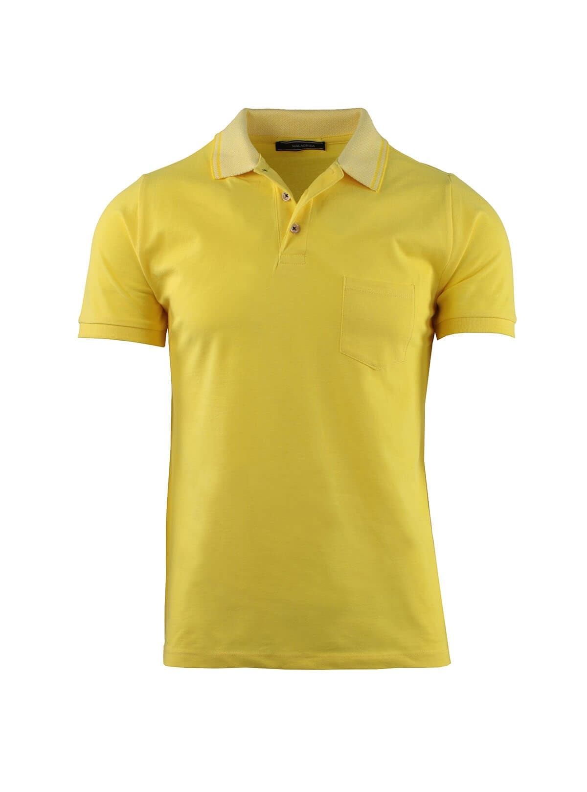 POLO IN PIQUET ELASTICA COLLO JACQUARD