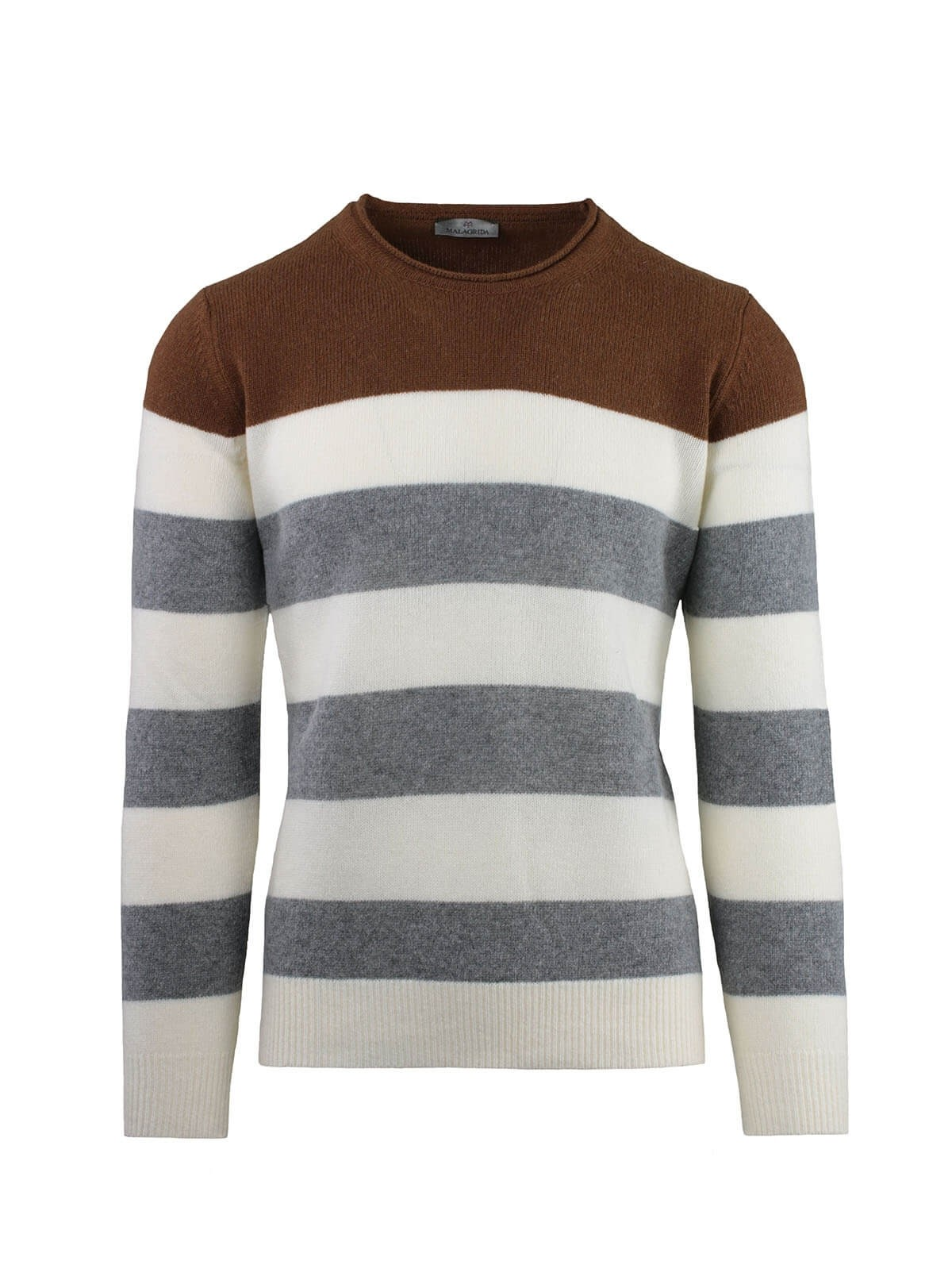 ROUND NECK AT LINES